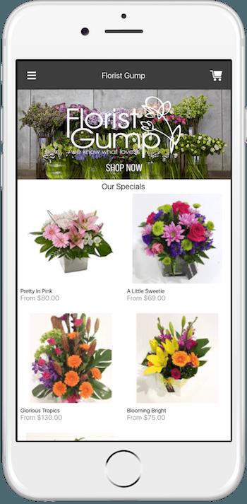 Florist Gump iPhone App