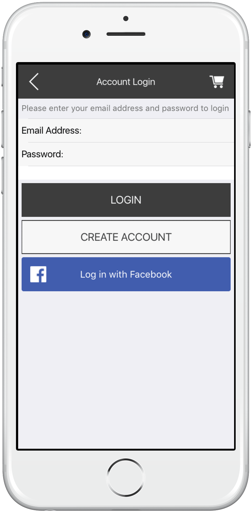 iPhone App Signup with Facebook