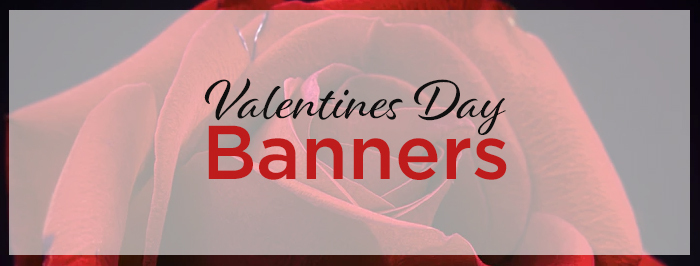Valentines Day Banners 2019