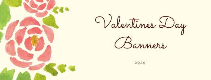 Valentines Day Banners 2020