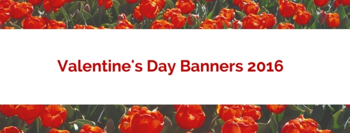 Generic Valentine's Banners 2016