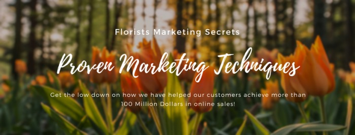 Marketing for Online Florists